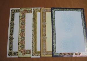 Meşk Kağıdı, 10 çeşitli, 100 'lü paket