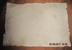Meşk Kağıdı, Deri görünümlü, A3