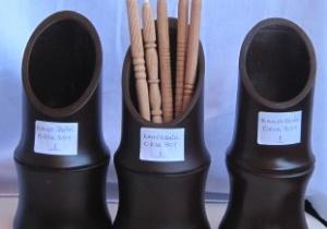 Kahverengi Bambu Kalemlik Ortaboy