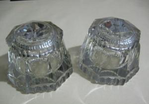 Kristal İkili Cam Hokka